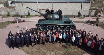 Флешмоб к 9 Мая от железнодорожников Павлодара